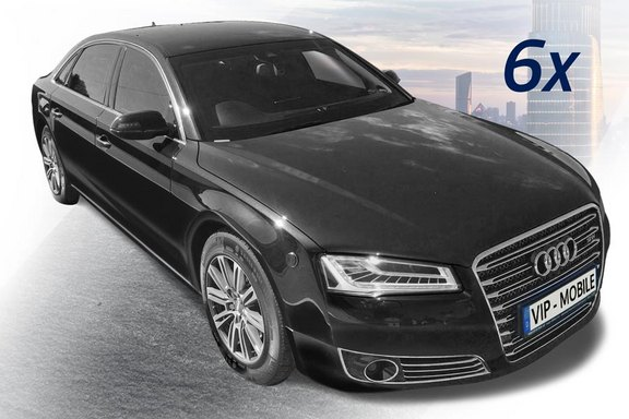 [Translate to EN:] vip-mobile_audi-a8-security_vr9-7_vollpanzerung