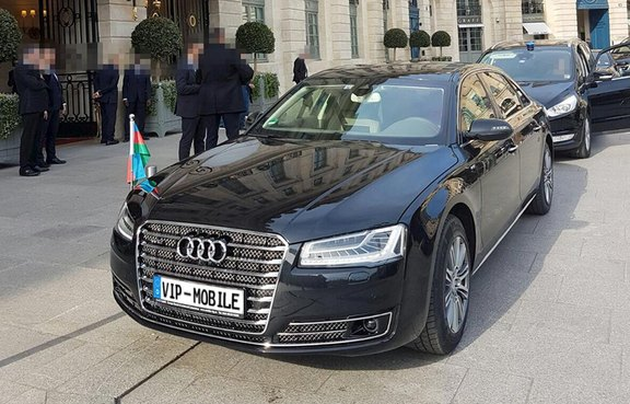 european rental service of armoured limousines and personal