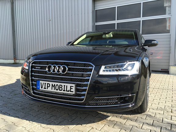 audi a8 security armored vehicle hire vip mobile. Black Bedroom Furniture Sets. Home Design Ideas